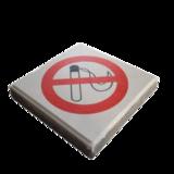 Signaaltegel rookverbod
