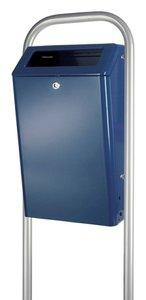 Buitenafvalbak-50-ltr - blauw